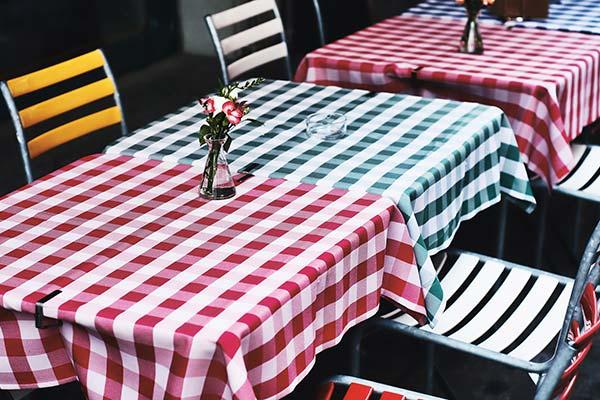 Mietwäsche für Hotel und Pension - Tischdecken